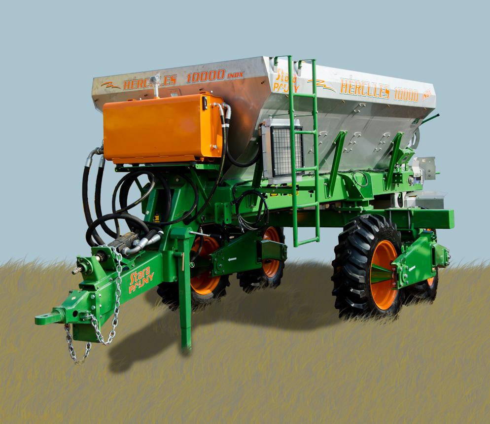 Para fertilizadoras