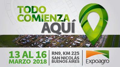 Expoagro 2018, del 13 al 16 de marzo