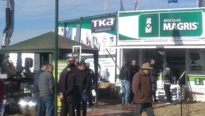 Básculas Magris y TKA en Agroactiva 2019